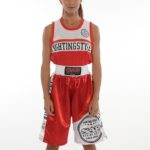 Canotta Boxe Competition Red 1