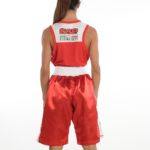Canotta Boxe Competition Red 2